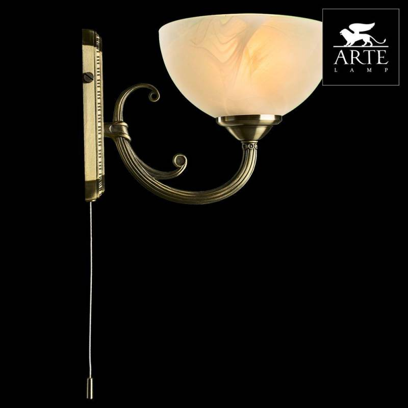 Фото 1: Бра Arte Lamp Windsor White A3777AP-1AB